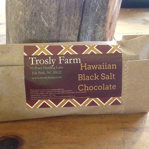 Hawaiian Black Salt Chocolate Bar