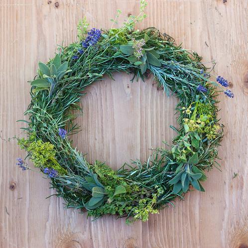 culinary herb wreath trosly farm