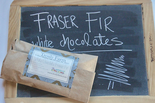 Fraser Fir White Chocolate