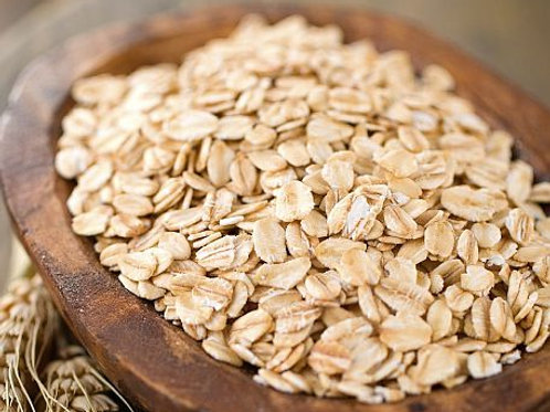 Organic Rolled Oats: by the lb