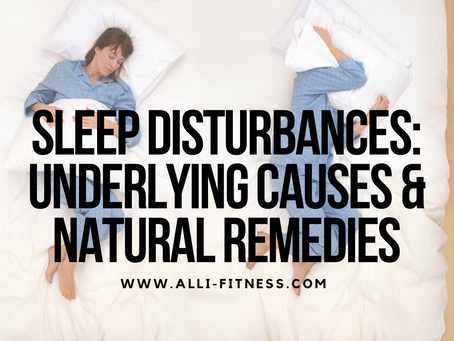 Sleep Struggles: Underlying Causes & Natural Remedies