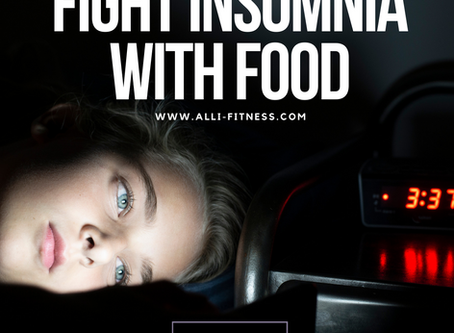 Fighting Insomnia Through Food