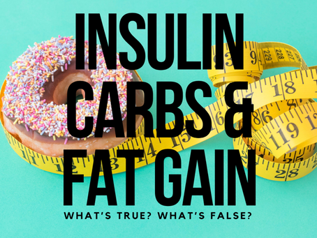 Insulin, Carbs & Fat Gain