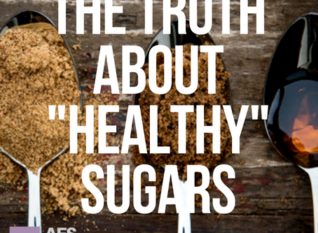 """The Truth About """"Healthy"""" Sugars"""
