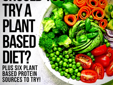 Should You Try a Plant Based Diet? PLUS Six Plant Based Protein Foods to Try!