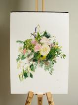 The Custom Botanist, bouquet commission