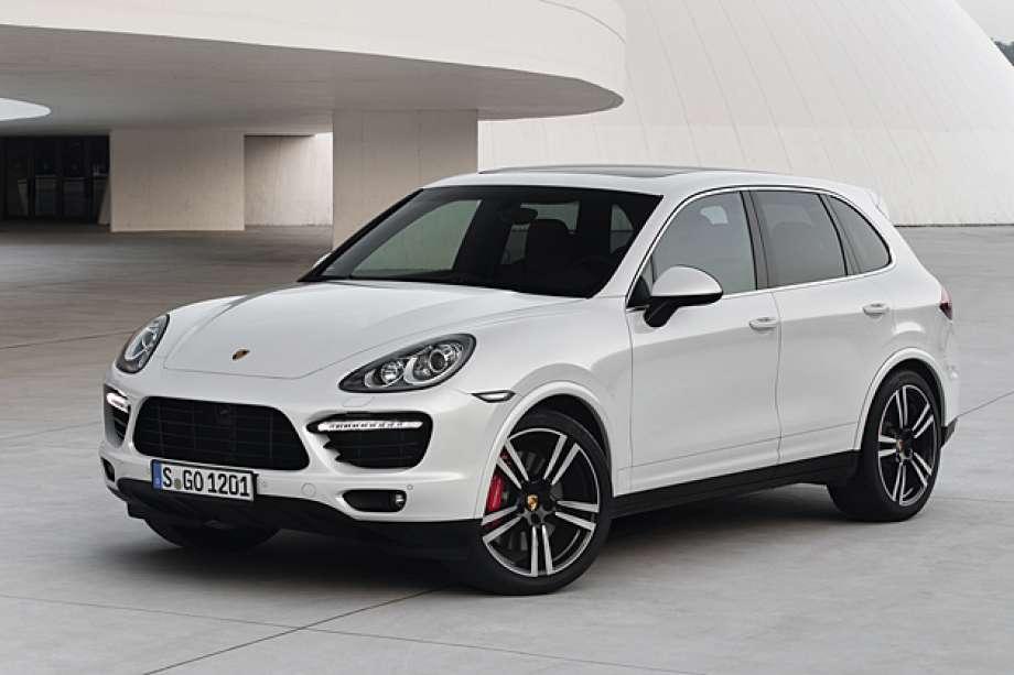 Porsche cayenne- front- Luxury car rental houston