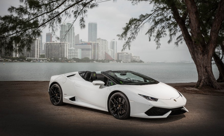 Lamborghini Huracan LP610 Spyder - W exotic car rentals