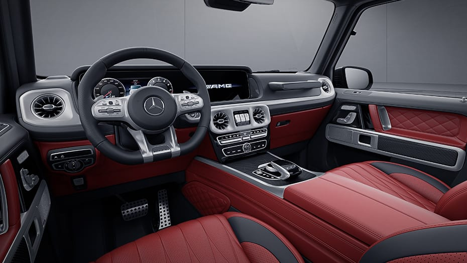 2019 Mercedes  Benz G63 AMG- interior