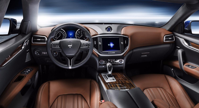 Maserati Ghibli - interior- Luxury car rentals Houston_edited
