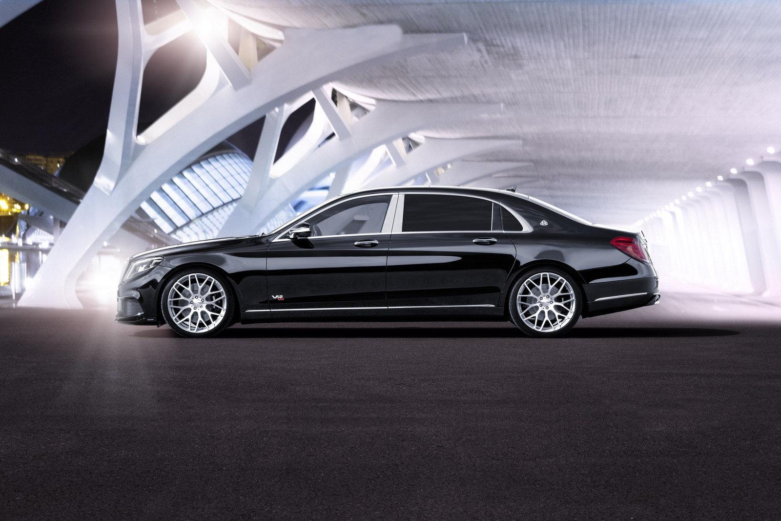 Mercedes Maybach - Luxury car rental Houston