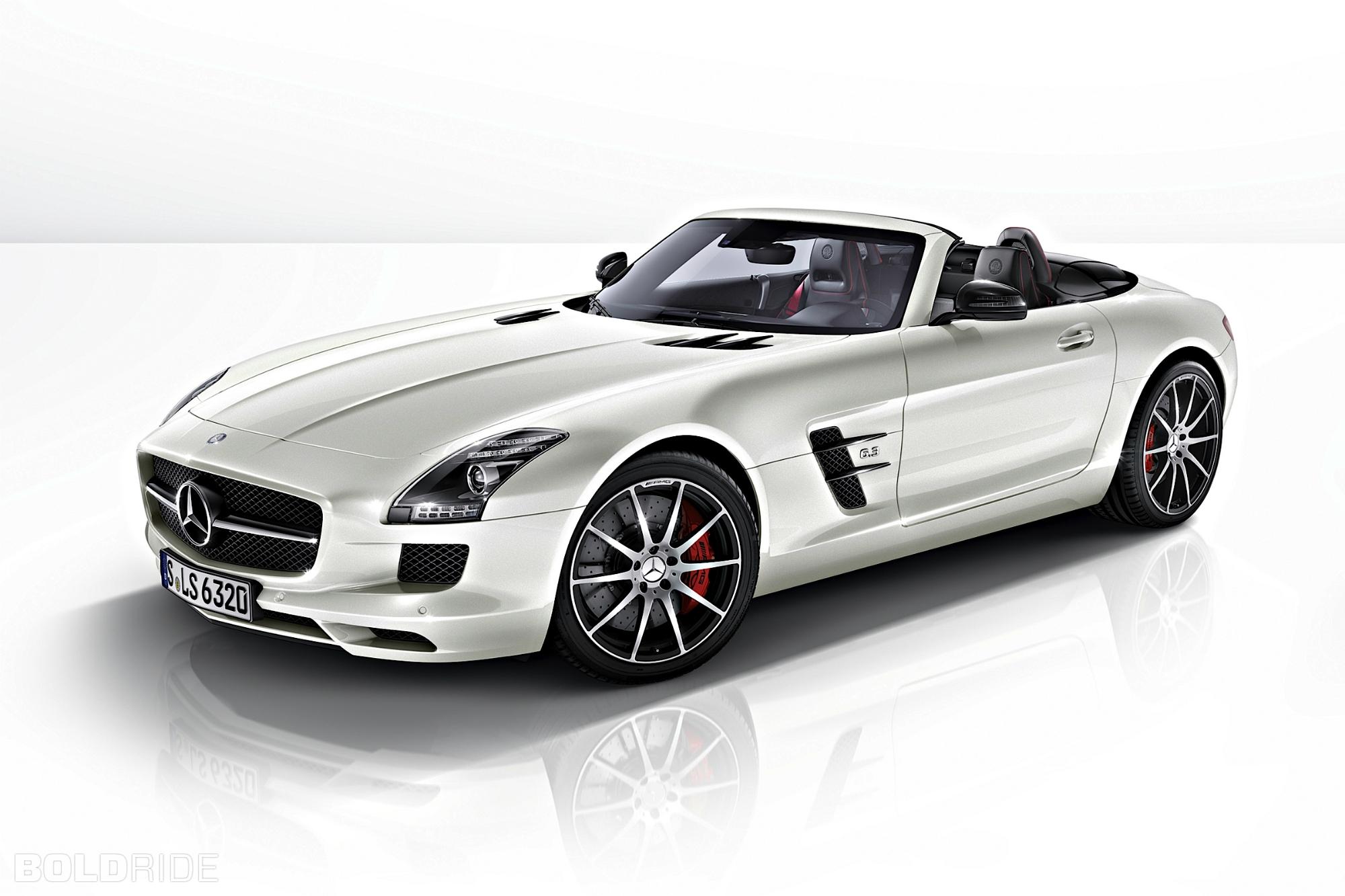 Mercedes SLS AMG- Side- W luxury car rentals