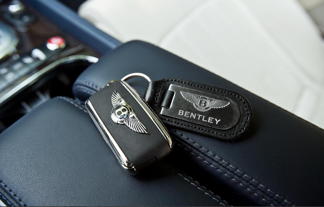 Bentley Mulsanne - key - Wedding rental Houston