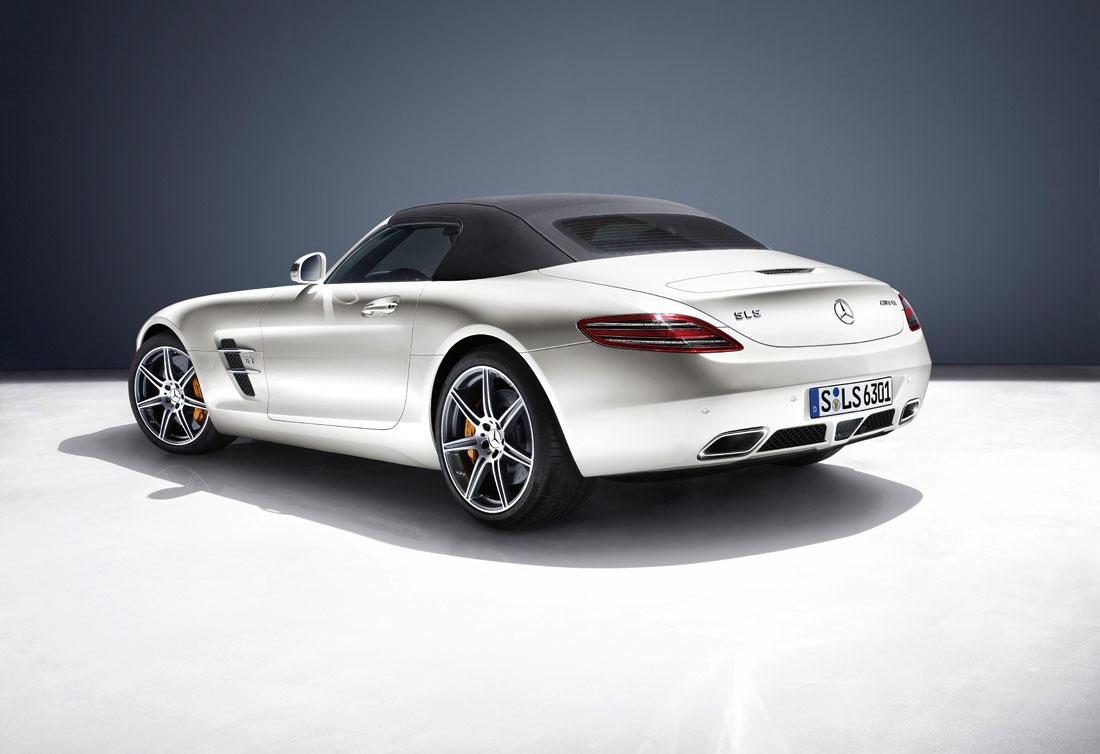 Mercedes SLS AMG- Back-W luxury car rentals