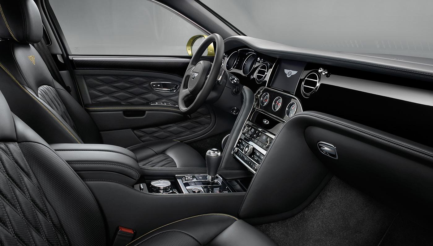 Bentley Mulsanne - inside- Wedding rental Houston