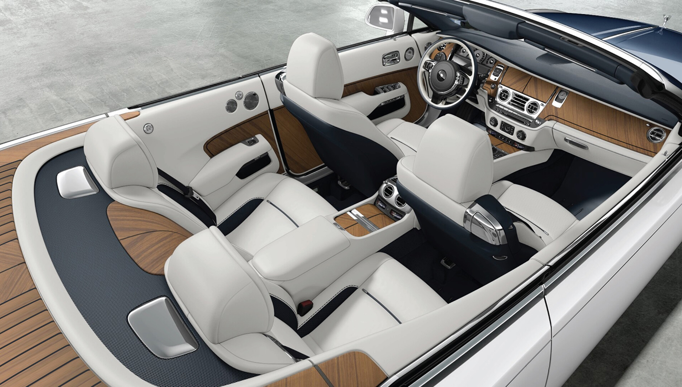 Rolls Royce Dawn-inside
