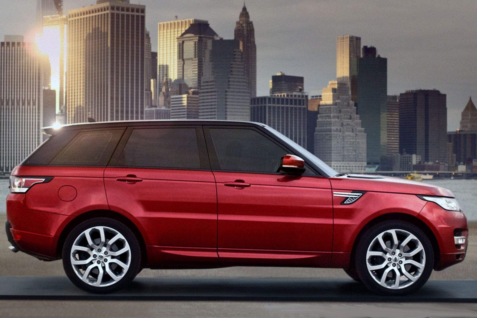 Range Rover Sport- side2 - luxury car rental houston