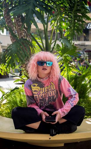 Hollywood pink
