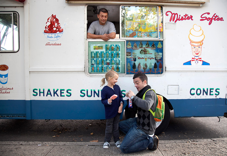 Icecream with daddy