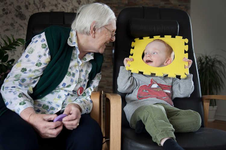 Børn på plejehjem