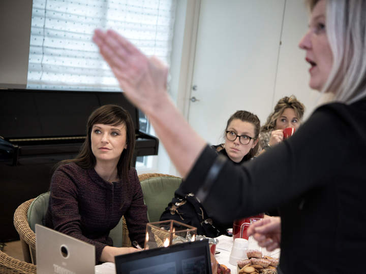 Besøg af socialminister Sophie Løhde