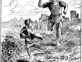 El gigante y las habichuelas mágicas