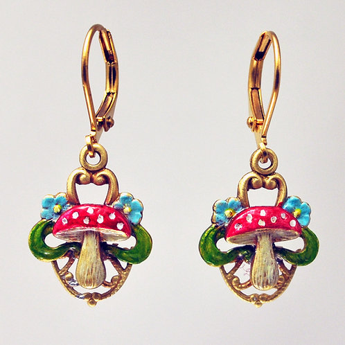 Amanita Earrings