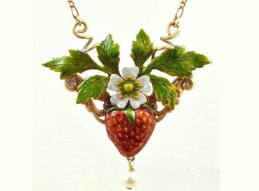 Wholesale: Wonderland Strawberry Necklace