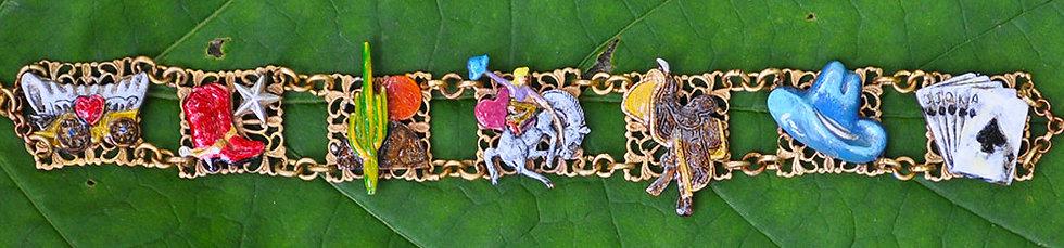 Victorian Cow Girl Bracelet