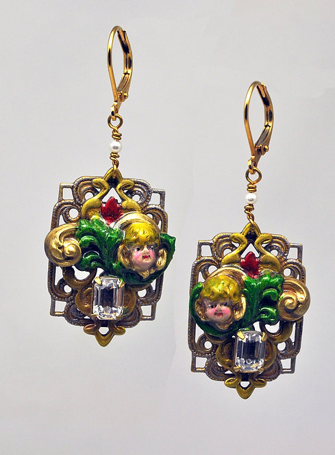 Christmas Angels Earrings