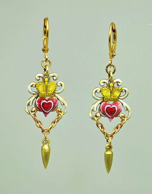 Ruler of My Heart Earrings