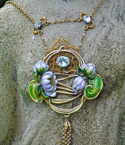 Divine Water Lily Necklace