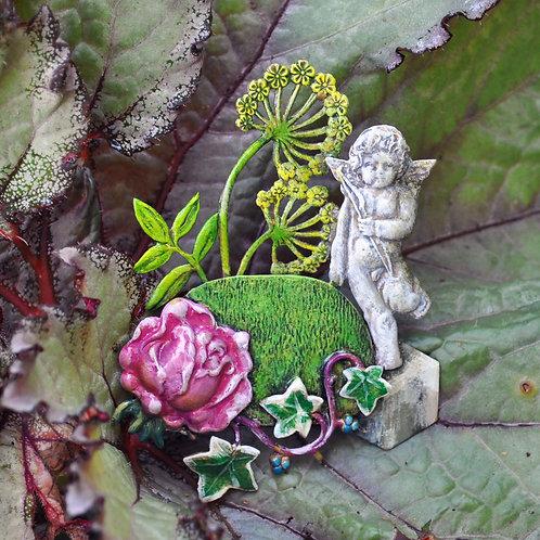 English Garden Brooch