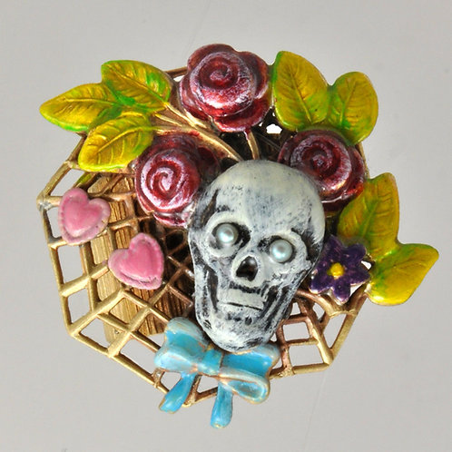 Wholesale: Sugar Skull Ring