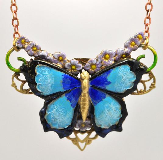 Blue Morpho Necklace.jpg