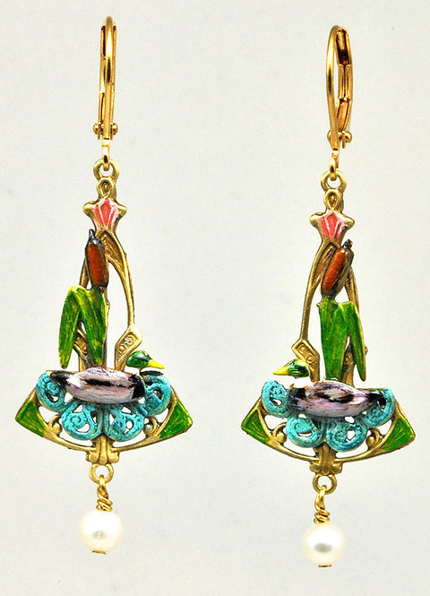 Wholesale The Wildlife Collection: Mallard Earrings