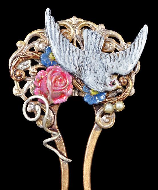 Valentine Hair Pin