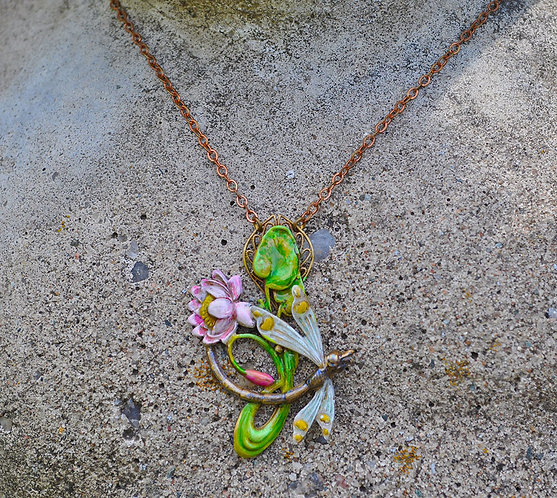 Wholesale: Lily Pond Necklace