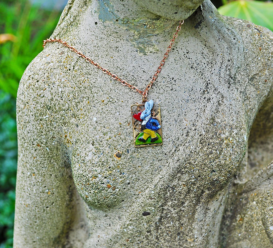 Wholesale: Wonderland White Rabbit Necklace