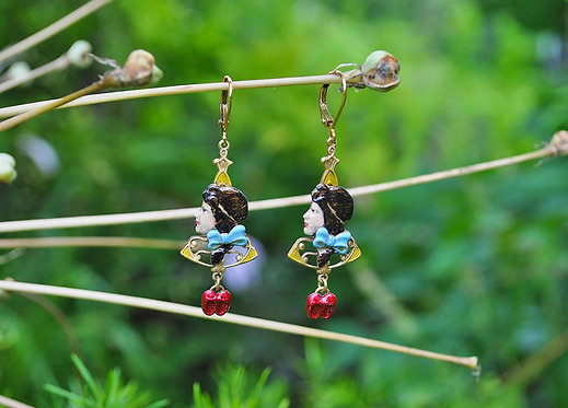 Wholesale: Wizard of Oz Dorothy Earrings