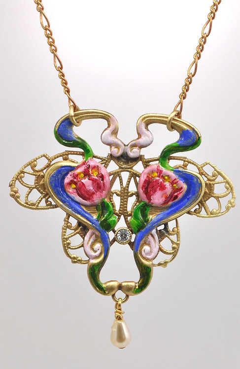 Wholesale: Waterlilies Necklace