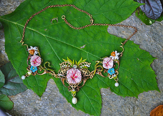 Wholesale: Faerie Pink Titania Necklace