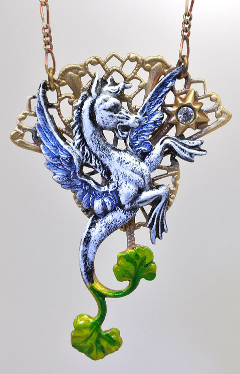 Wholesale: Faerie Pegasus Necklace