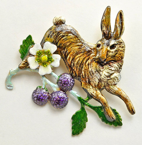 Cottontail Rabbit Pin