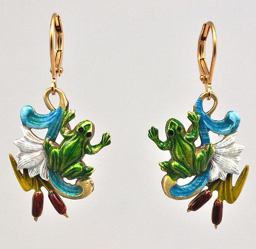 Frog Pond Earrings