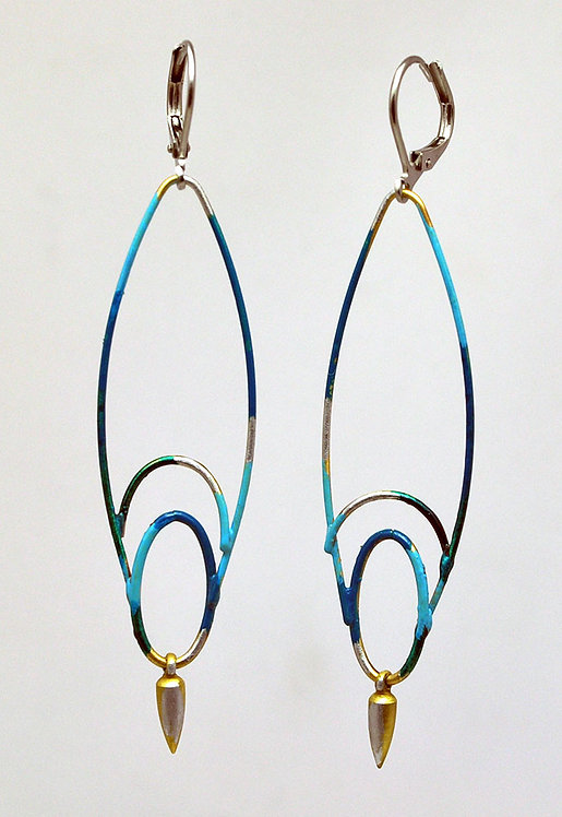 Wayfinding Earrings Turquoise