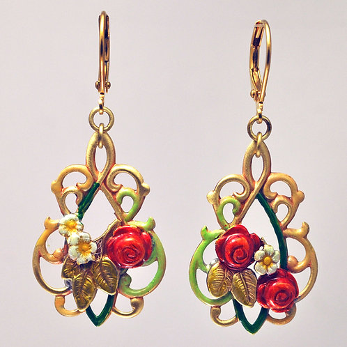 Sweet Briar Earrings