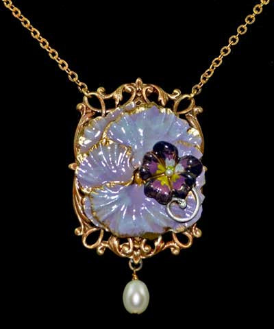 The Pansy Collection: Pansy Necklace