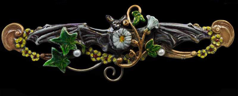 Moon Flower Pin