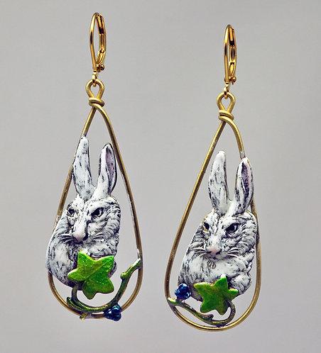 Rabbit Ivy Earrings